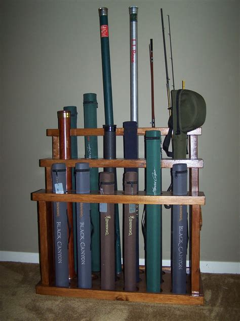 the naturalist s angle quot d i y quot fly rod rack