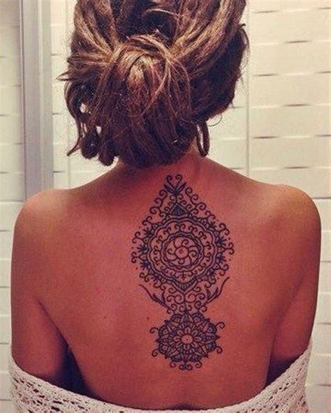 tattoo mandala dos 15 201 pingles henn 233 dos incontournables tatouages