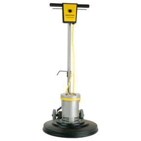 17 inch poly apron floor scrubbing machine