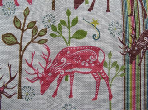 pattern for fabric reindeer patternista limited edition fabric