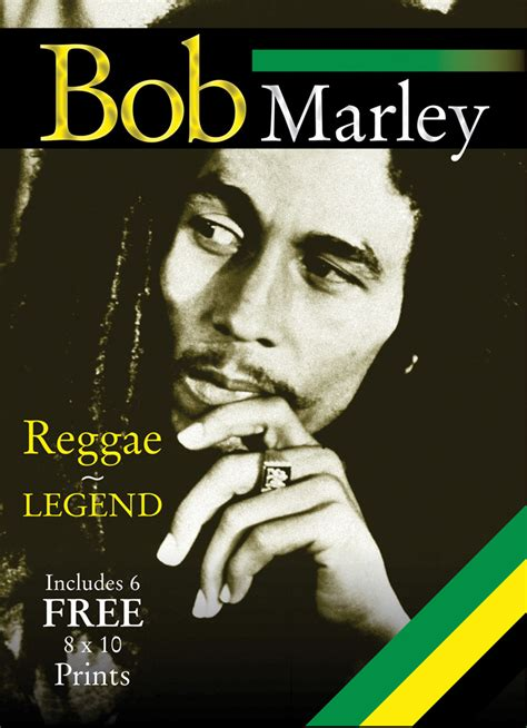biography of bob marley book bob marley reggae legend includes 6 free 8x10 prints