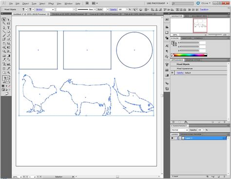 edit pattern illustrator cs5 how can i change the center point of a irregular shapes