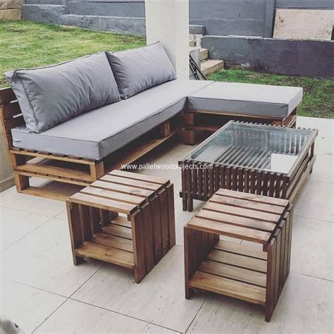 Prepare Amazing Projects With Old Wood Pallets Pallet Wooden Pallet Outdoor Furniture