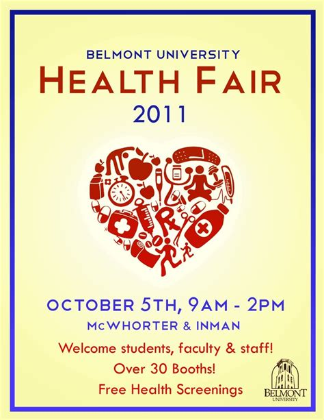 Pin By Giovanni Figueroa On Health Fair Ideas Pinterest Health Fair Wellness Flyer Templates Free