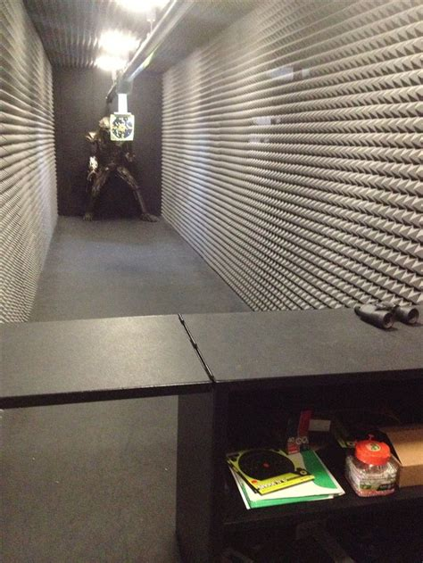 shooting range in your basement um yes home