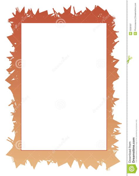 jagged border  white frame royalty  stock photography image