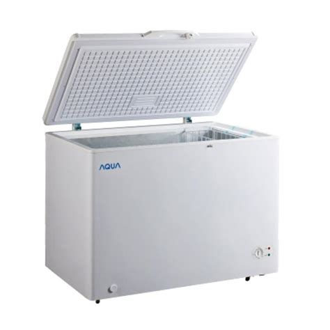 Chest Freezer Aqua Aqf 100 W jual aqua japan aqf 310 chest freezer harga