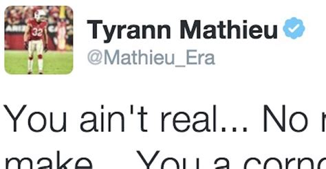 tyrann mathieu tattoos tyrann mathieu is the nfl player to throw shade at