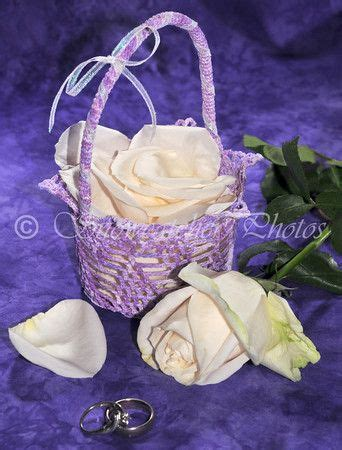 pattern flower girl basket 1000 images about crochet baskets on pinterest