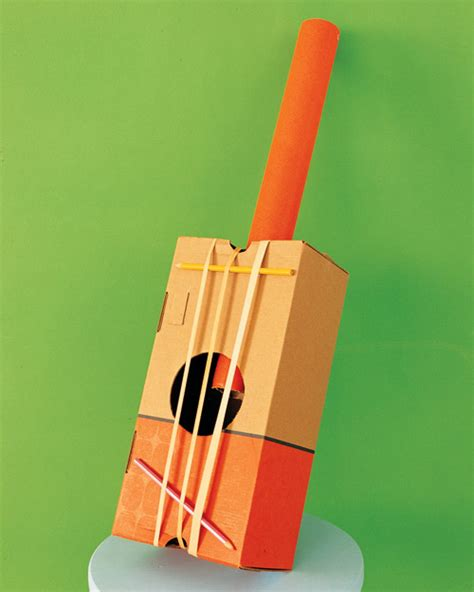 How To Make A Musical Instrument Out Of Paper - martha stewart