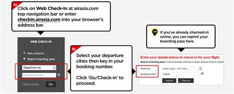 airasia online check in mobile airasia web and mobile check in malaysia airport klia2 info