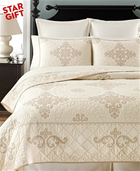 Martha Stewart Bedding Quilts by Closeout Martha Stewart Collection Memoir Collector S Quilts Quilts Bedspreads Bed Bath