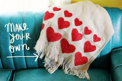 diy blanket heart blanket diy a beautiful mess
