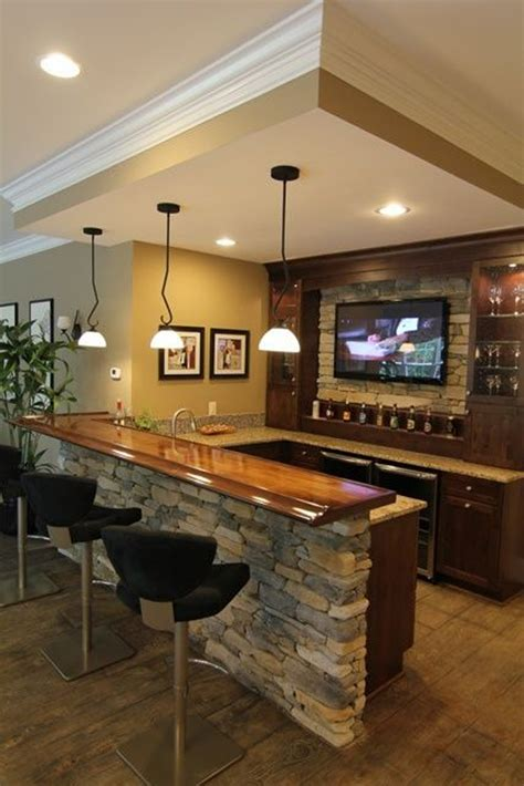 25 cool and masculine basement bar ideas home design and