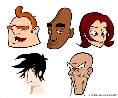 inkscape tutorial cartoon characters in inkscape by evandrodesouza on deviantart