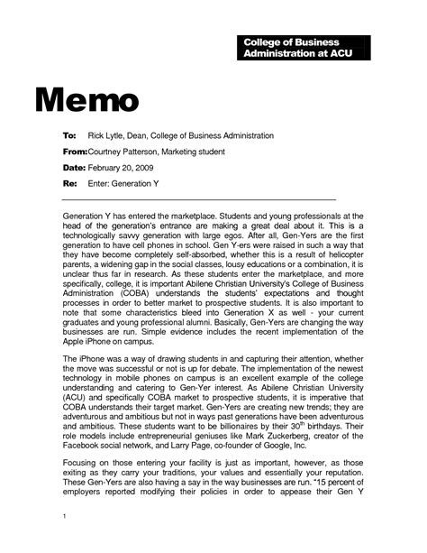 10 best images of professional business memo