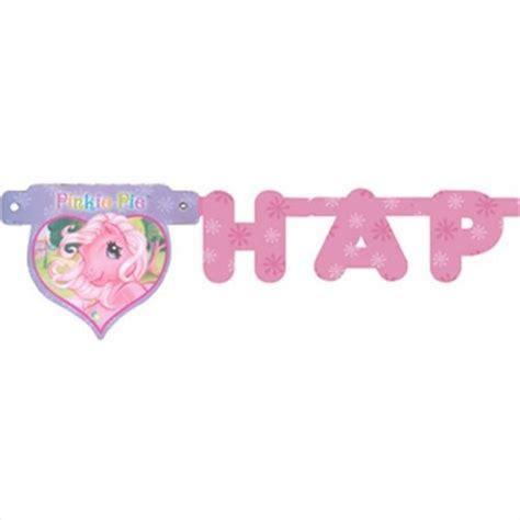 Bunting Flag Happy Birthday Pony Banner Hbd Pony my pony happy birthday banner 8ft