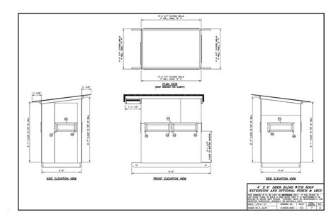 Shooting House Plans by 4 215 6 Shooting House Plans Idea Home And House