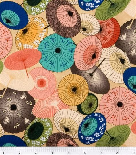 umbrella pattern fabric keepsake calico fabric a fuji afternoon umbrellas fabric