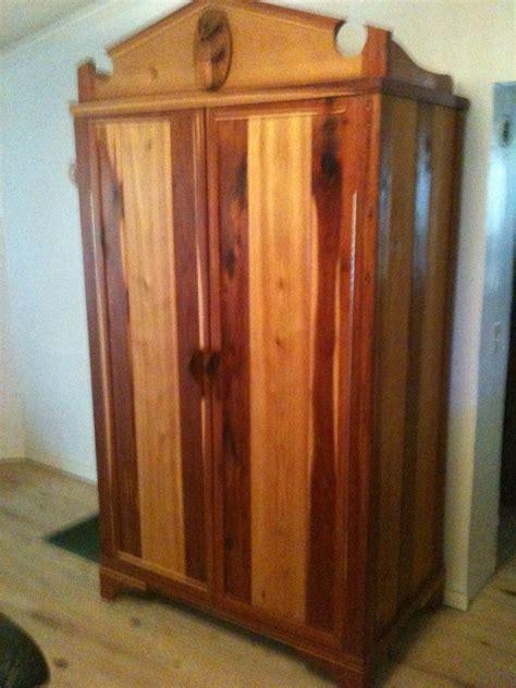 handmade cedar armoire  robert ritteman custom