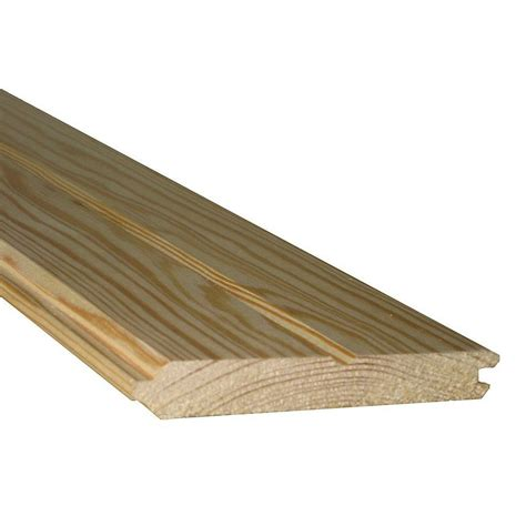 lowes tongue and groove pine shop tongue and groove pattern stock southern yellow pine board at lowes