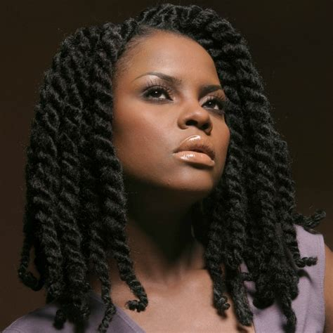 a large twist in straight hair 51 kinky twist braids hairstyles with pictures