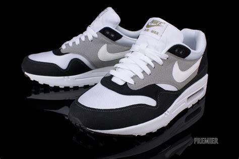 Nike Airmax One Black White nike air max 1 black white sneakers addict
