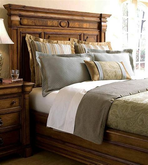 thomasville bedding thomasville furniture rivage king panel bed 44611 436
