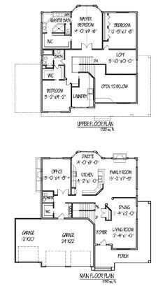 open floor plan farmhouse 30081rt 2nd floor master 1000 images about 2 story floor plan on pinterest two