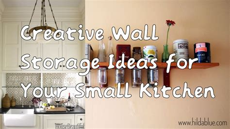 5 creative wall storage ideas for your small kitchen