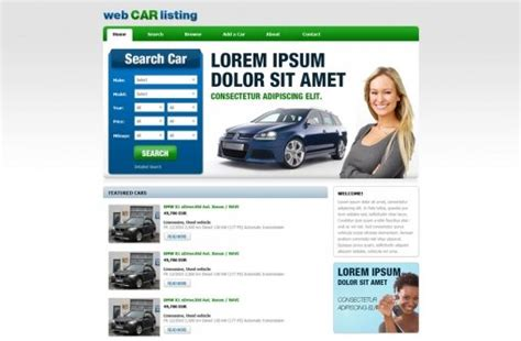 Free Car Dealer Website Templates Auto Dealer Templates Phpjabbers Free Auto Dealer Website Template