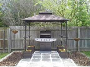Grill Gazebo Shelter by Build A Grill Gazebo For Your Backyard Diy Projects For