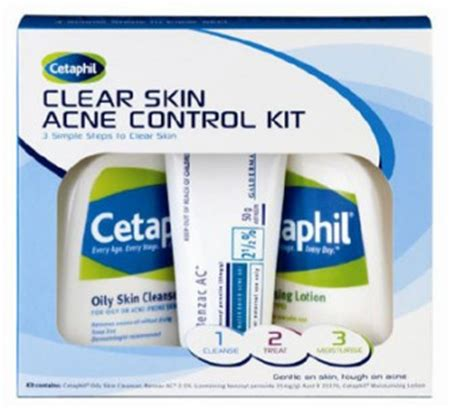 Cetaphil Kit cetaphil clear skin acne kit