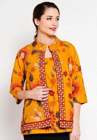 Foto Baju Batik Danar Hadi 51 model baju batik kerja wanita danar hadi