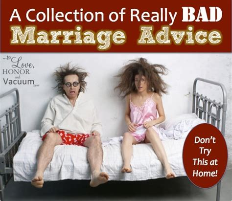 downsizing your home to love honor and vacuum bad marriage advice don t try these things at home