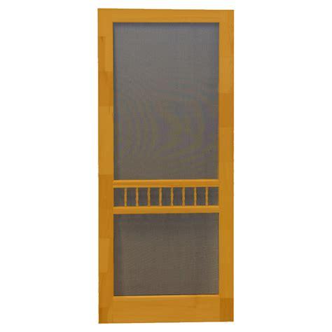 shop screen tight arbor cedar naturaltone wood screen door