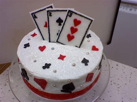 Gift Card Cake - deck of cards cake birthdays cakes pinterest
