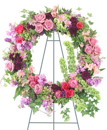 enchanting standing wreath flower shop network