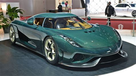 The Production Koenigsegg Regera Looks Wonderful In