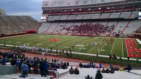 Section 8 Lincoln Ne by Memorial Stadium Section 22 Rateyourseats