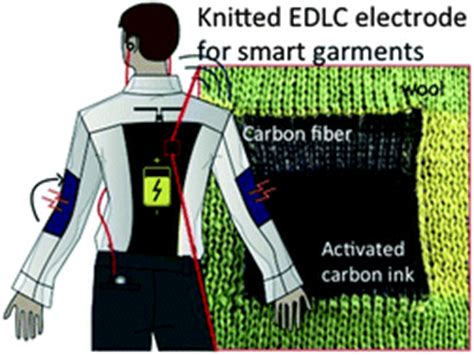 knitted supercapacitors knitted and screen printed carbon fiber supercapacitors for applications in wearable electronics