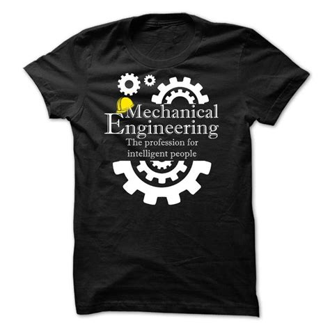 T Shirt Tshirt Engineering pin mechanical engineering logo t shirt on