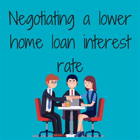 housing loan interest how to negotiate a lower home loan interest rate hannans finance