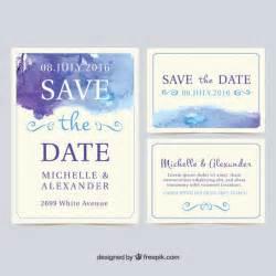 wedding invite copy sle watercolor wedding invitation cards vector free