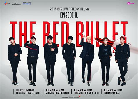 bts usa info 2015 bts live trilogy episode ii the red bullet in usa