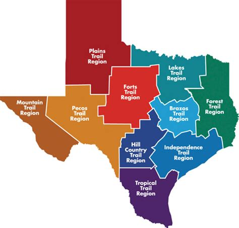 texas map regions mrs jackson s class website texas independence day march 2