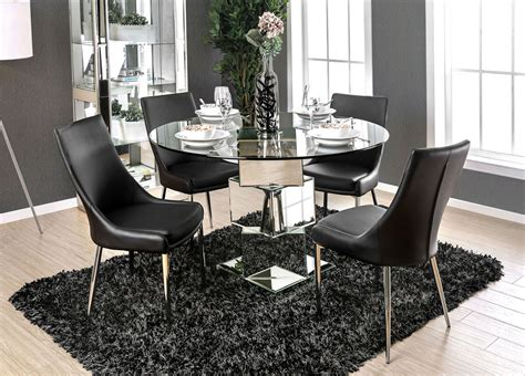 mirrored dining room table ikon mirrored dining table