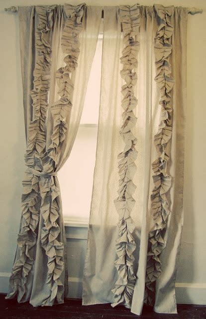 ruffle curtain tutorial 17 best images about muslin on pinterest shops