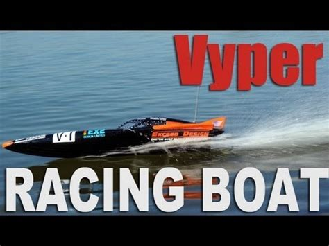 nitrorcx boats new exceed vyper racing fiberglass boat youtube