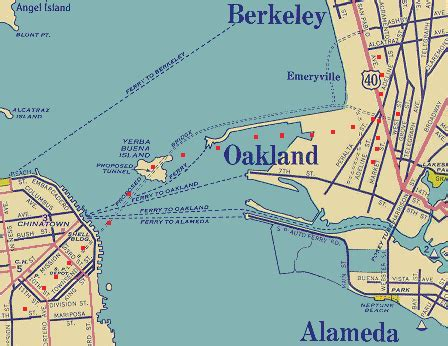 san francisco map berkeley aerial photographs of the san francisco oakland bay bridge